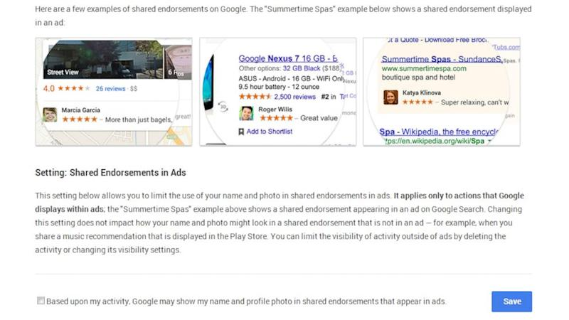 How to Opt Out of Google Policy That Displays Your Photo Beside Ads