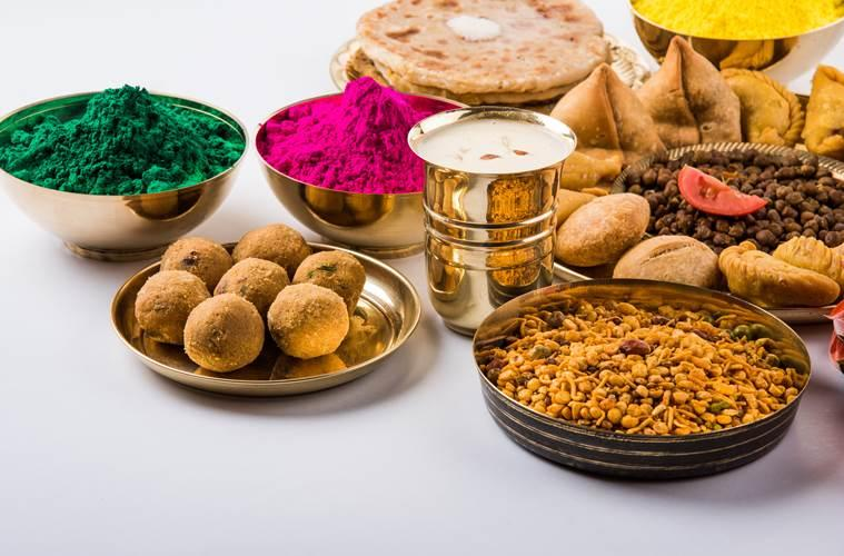 Holi snacks, healthy snacks for kids on Holi, health, health of children, eating healthy, eating healthy snacks, parenting, indian express, indian express news