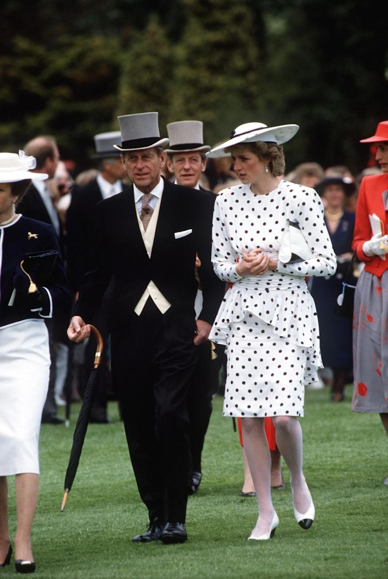 It's claimed Prince Philip wrote letters to the Princess at the beginning trying to help with her marriage woes. Photo: Getty Images