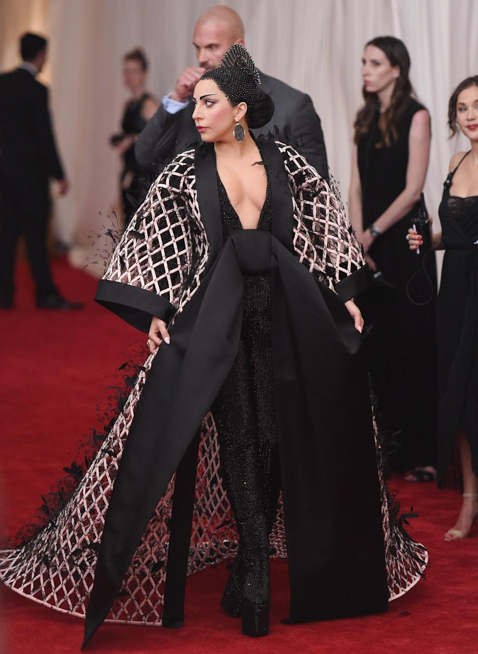 """<h1 class=""""title"""">Lady Gaga in Alexander Wang, 2015</h1><cite class=""""credit"""">Photo: Getty Images</cite>"""