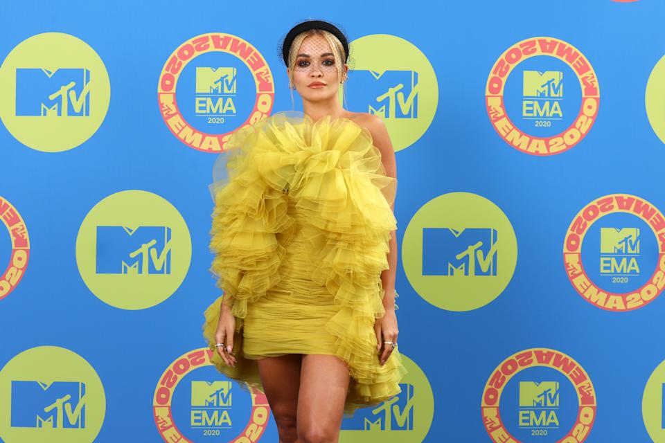 Rita Ora was caught throwing a birthday party (Photo by Tim P. Whitby/Getty Images for MTV)
