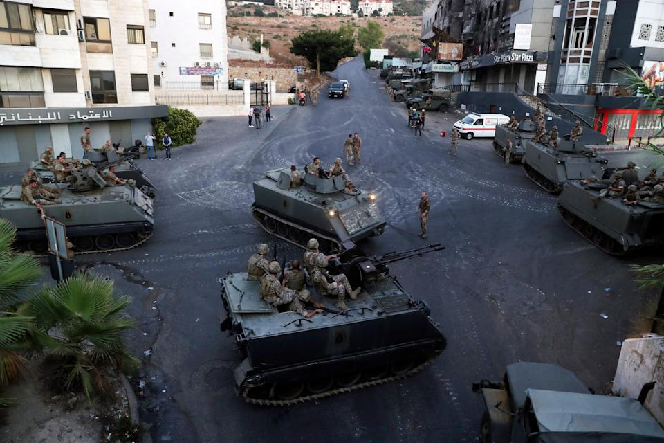Lebanon Shooting (Copyright 2021 The Associated Press. All rights reserved)