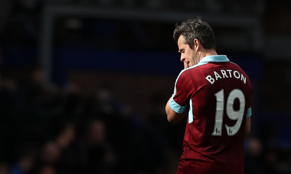 Joey Barton, in his own words, selfish to the end.
