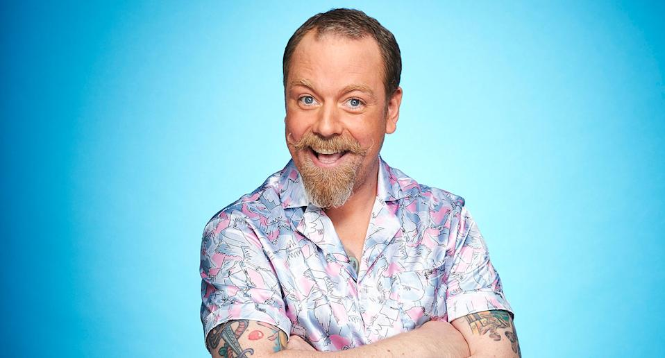 Rufus Hound. Dancing On Ice 2021 (ITV)