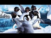 """<p>Maybe I love penguins. Maybe I love Elijah Wood (this is his third appearance in this list) maybe I just really love the cold. Or it's all of the above! But if you don't find yourself charmed by the idea of a tap-dancing penguin trying to find his heart song, I don't think this is your arena, but also, who are you?</p><p><a class=""""link rapid-noclick-resp"""" href=""""https://www.amazon.com/Happy-Feet-Elijah-Wood/dp/B000OWAFPE?tag=syn-yahoo-20&ascsubtag=%5Bartid%7C10058.g.23305370%5Bsrc%7Cyahoo-us"""" rel=""""nofollow noopener"""" target=""""_blank"""" data-ylk=""""slk:WATCH IT"""">WATCH IT</a></p><p><a href=""""https://www.youtube.com/watch?v=rTcZo2-UK_U"""" rel=""""nofollow noopener"""" target=""""_blank"""" data-ylk=""""slk:See the original post on Youtube"""" class=""""link rapid-noclick-resp"""">See the original post on Youtube</a></p>"""