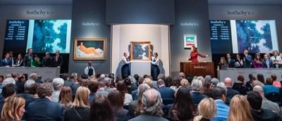 Sotheby's 2018 auctions concluded this week, reaching a total of $5.3 billion, a 12% increase over 2017. Amedeo Modigliani's 'Reclining Nude' achieved the top price of any auction house in 2018 selling for $157.2 million.