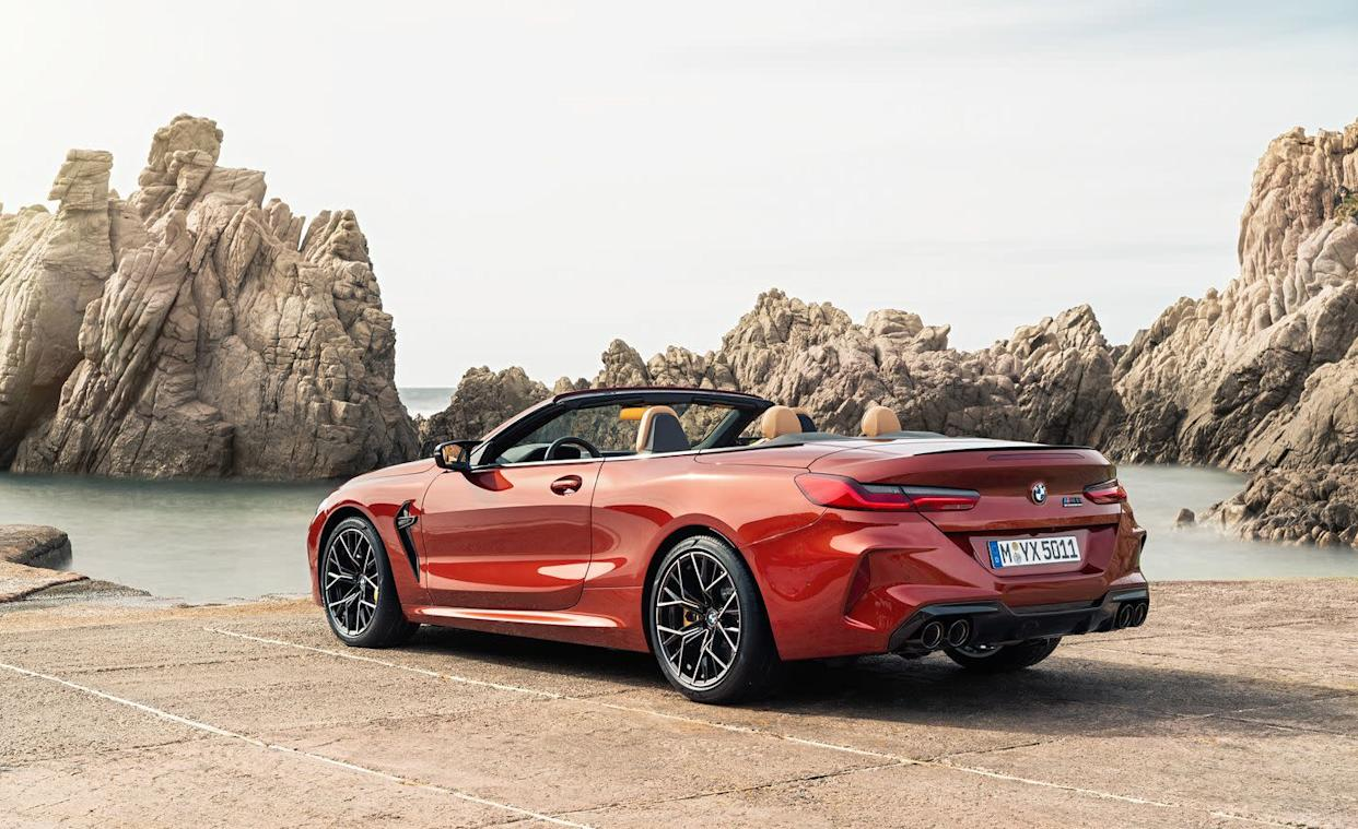 The 2020 BMW M8 Is the 617-HP High-Performance 8-Series We've Been