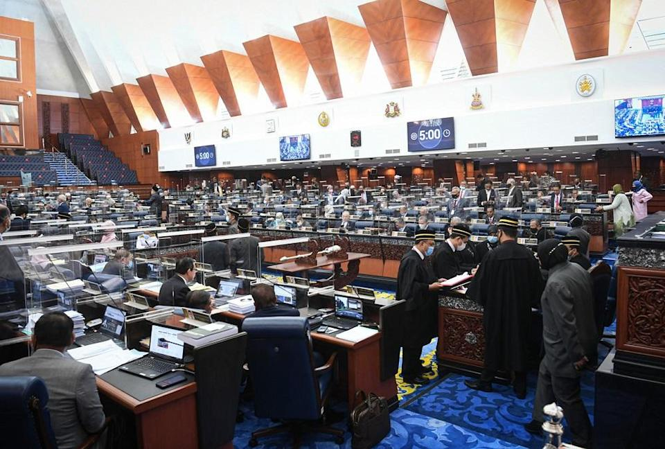 Parliament has so far approved the allocation for 11 ministries at the committee stage; four through bloc voting and seven through voice votes. — Bernama pic