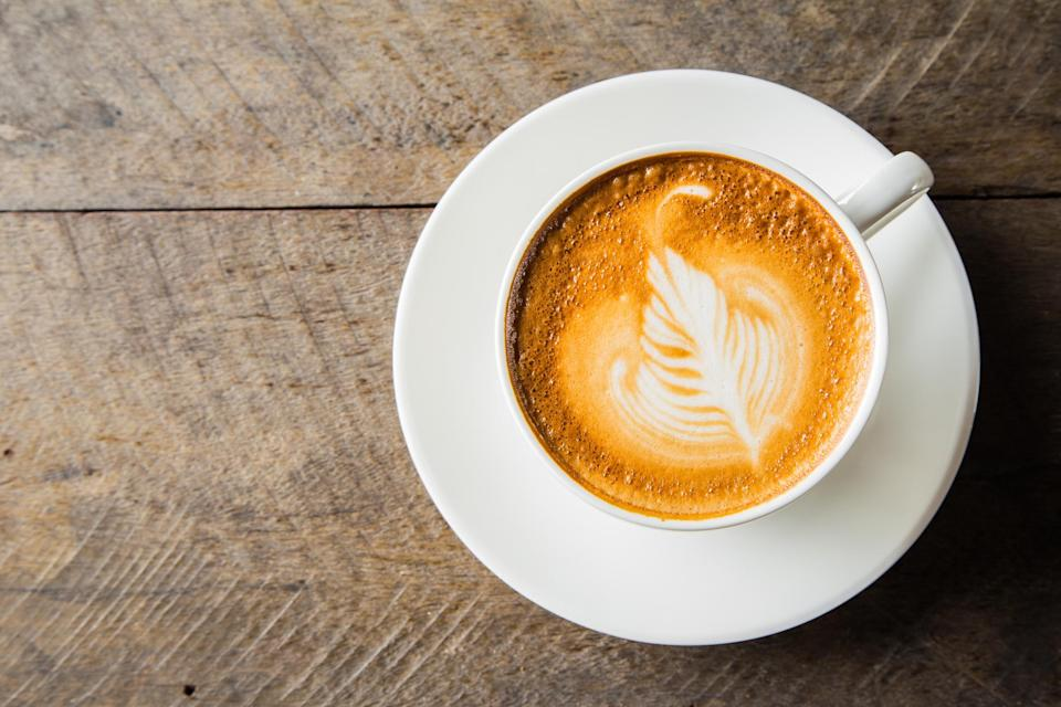 """<p>As much as you may crave a hot cappucino the morning after a night our with your work colleagues, caffeine will only be your worst enemy.<br><br>According to <em><a rel=""""nofollow noopener"""" href=""""http://www.netdoctor.co.uk/healthy-living/wellbeing/how-to/a25863/12-ways-to-stop-a-hangover/"""" target=""""_blank"""" data-ylk=""""slk:Netdoctor"""" class=""""link rapid-noclick-resp"""">Netdoctor</a>, </em>caffeine probably won't sober you up and will only irritate your bowels. And not only will this lead to further dehydration but caffeine will further prevent you from getting the rest you need. <em>[Photo: Getty]</em> </p>"""