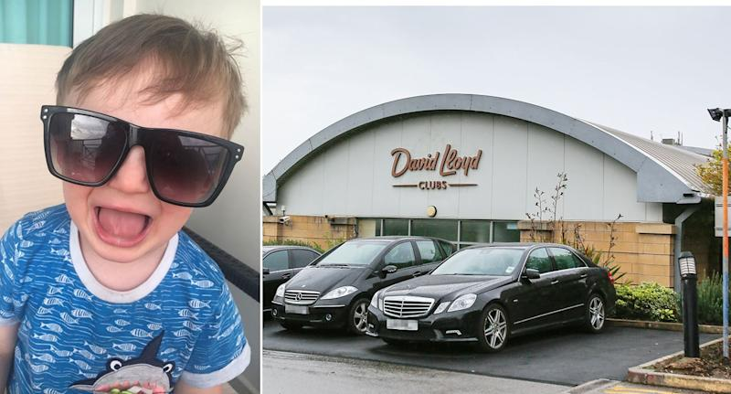 Rocco Wright drowned in the main pool at David Lloyd leisure centre, Leeds 9SWNS)