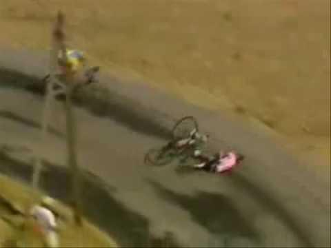 "<p>At the 2003 Tour de France, another rider's crash forced <a href=""https://www.bicycling.com/culture/a32907944/dear-lance-armstrong/"" rel=""nofollow noopener"" target=""_blank"" data-ylk=""slk:Lance Armstrong"" class=""link rapid-noclick-resp"">Lance Armstrong</a> off the road. He turned it into a shortcut.</p><p><a href=""https://www.youtube.com/watch?v=haEbtHiUcBc"" rel=""nofollow noopener"" target=""_blank"" data-ylk=""slk:See the original post on Youtube"" class=""link rapid-noclick-resp"">See the original post on Youtube</a></p>"