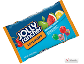 """<p><strong>Jolly Rancher Lollipops</strong></p><p>Advertised as offering """"<a href=""""https://www.hersheys.com/jolly-rancher/products/lollipops.aspx#/Lollipops"""" rel=""""nofollow noopener"""" target=""""_blank"""" data-ylk=""""slk:even longer-lasting flavor than Jolly Rancher Hard Candy"""" class=""""link rapid-noclick-resp"""">even longer-lasting flavor than Jolly Rancher Hard Candy</a>,"""" these lollipops give you a bigger and better way to enjoy your favorite hard candy. They come in the same flavors as the original small pieces: apple, watermelon, cherry, and pink lemonade. </p>"""