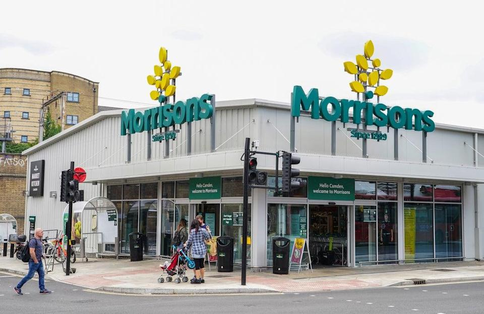 Morrisons' pension trustees have reached an agreement with suitor CD&R (Ian West/PA) (PA Wire)