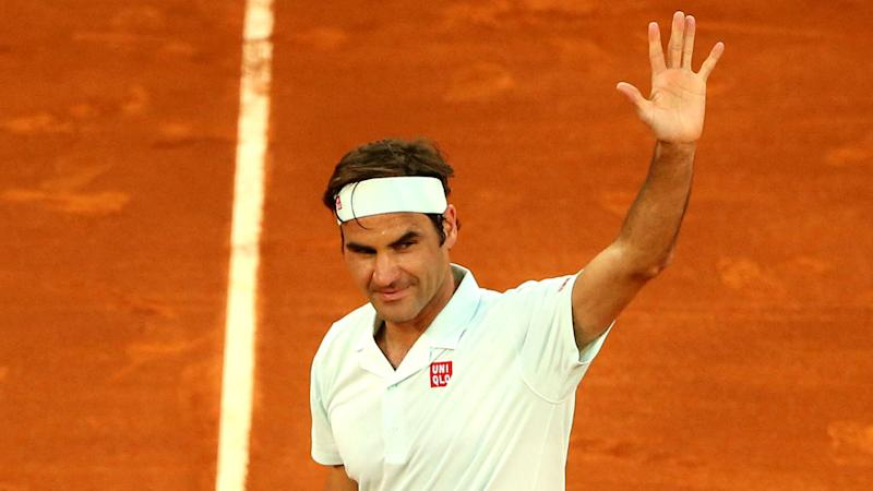 Federer wins first clay court match since 2016