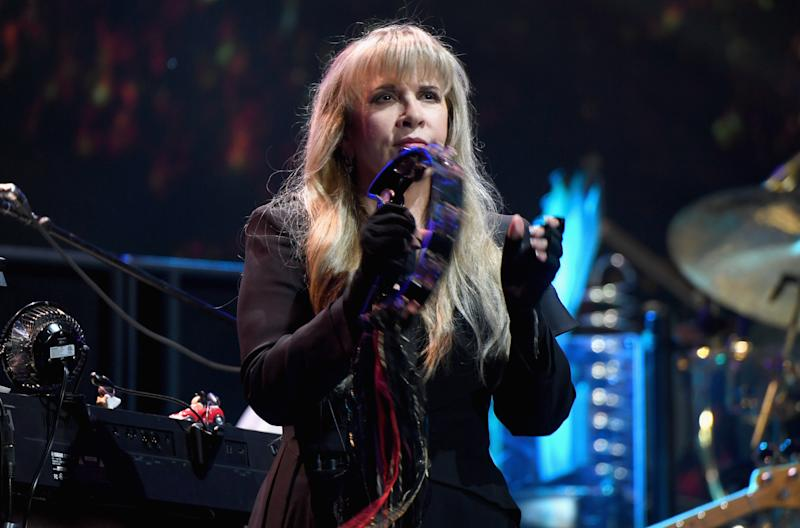 Stevie Nicks at the iHeartRadio Music Festival in 2018. (Photo: Getty Images)