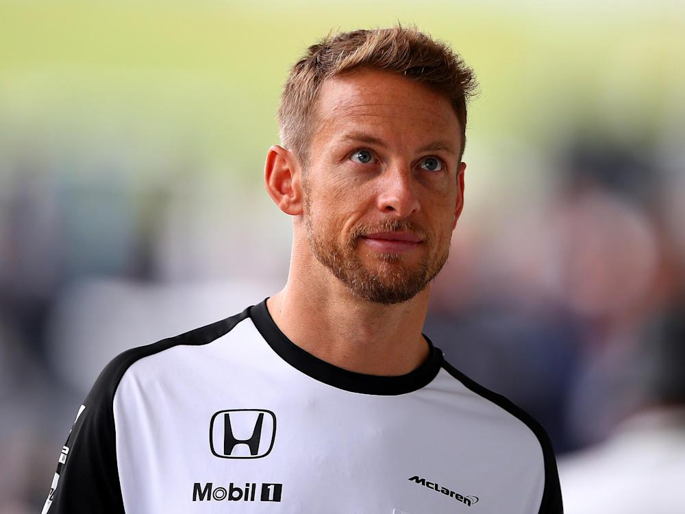 Button is contracted as a reserve driver and ambassador of McLaren until the 2018 season: Getty
