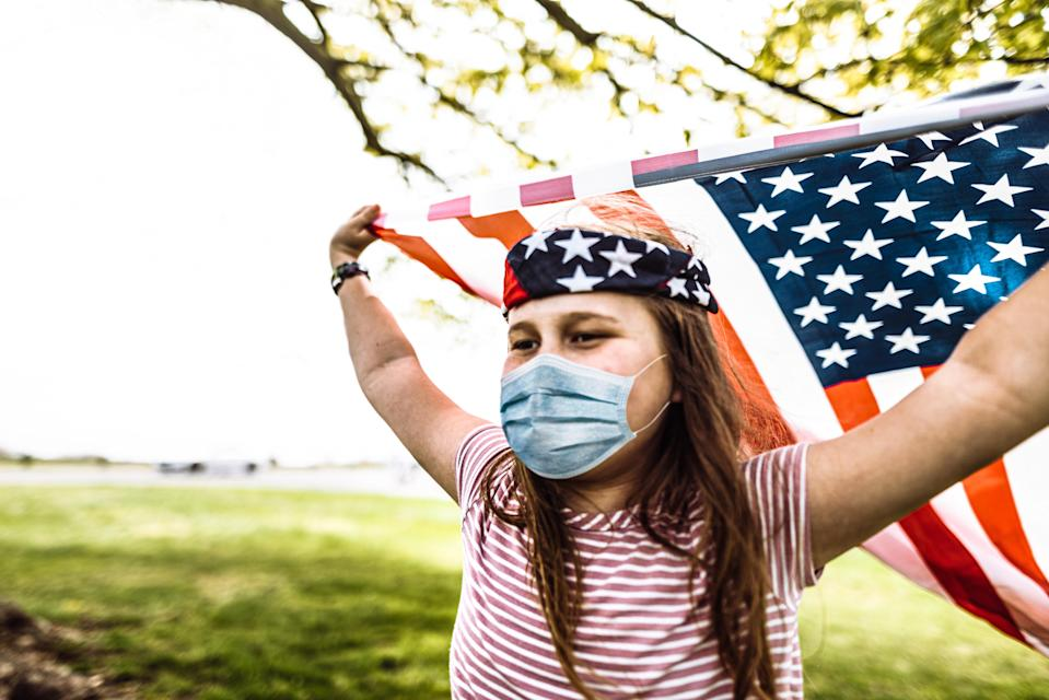 Experts say it's important to exercise caution during Fourth of July celebrations this year. (Photo: Getty Creative stock photo)