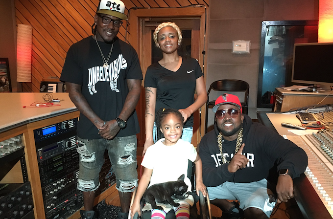Big Boi Gives Service Puppy to 5-Year-Old Girl Paralyzed by Gun Violence