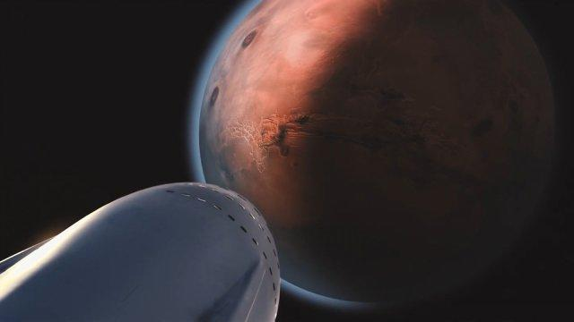 Space X wants to colonise Mars