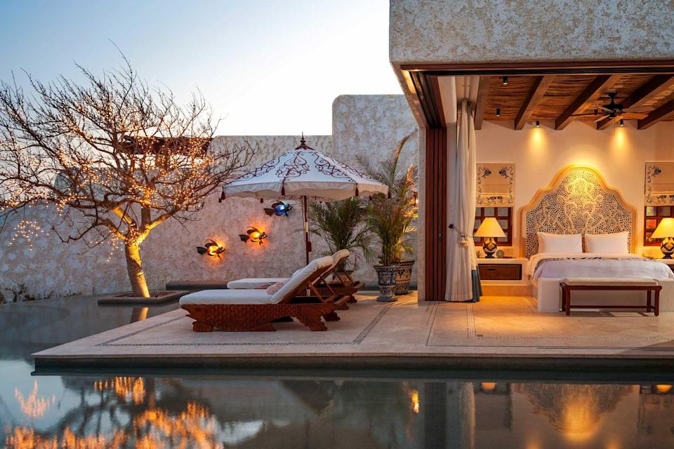 A guest villa at Las Ventanas al Paraiso, voted one of the best hotels in the world
