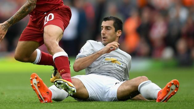 <p>Mourinho slams Mkhitaryan for disappearing during Manchester United games</p>
