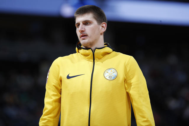 Nikola Jokic has played three seasons with the Nuggets. (AP)