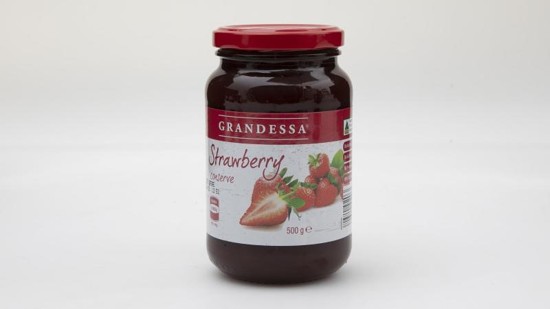 "Aldi's jam came in at last place with reviewers saying it had ""quite an artificial smell and flavour"". Photo: Supplied"