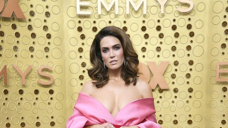 Mandy Moore Gives Off Kacey Musgraves Vibes in Stunning 2019 Emmys Look