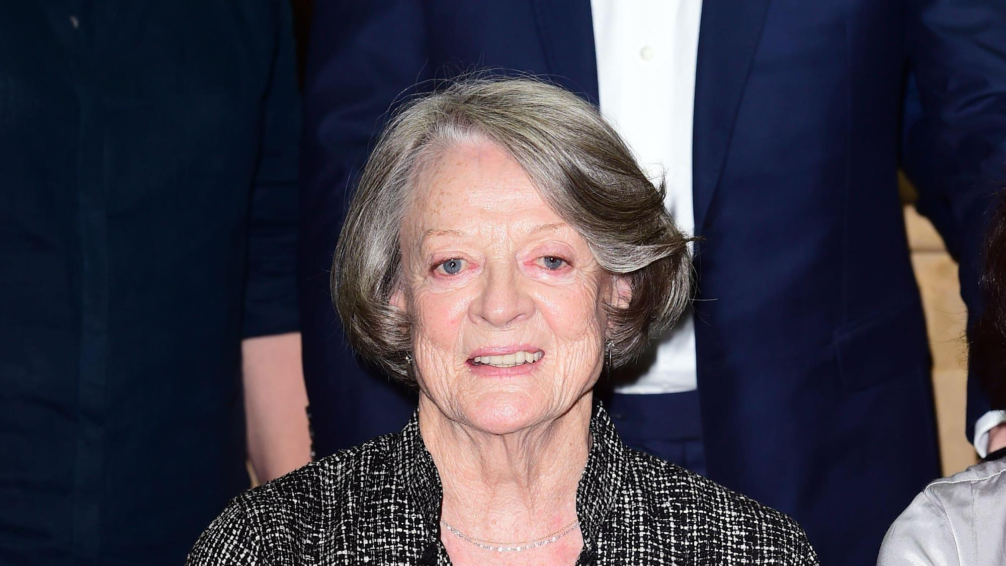 Maggie Smith tells how Julie Andrews rescued her