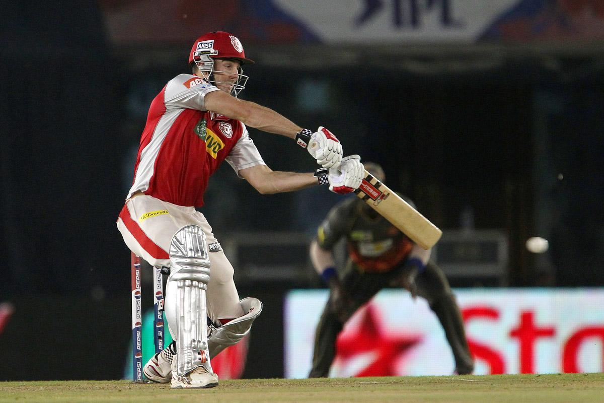 Shaun Marsh during match 59 of of the Pepsi Indian Premier League between The Kings XI Punjab and the Sunrisers Hyderabad held at the PCA Stadium, Mohali, India  on the 11th May 2013.(BCCI)