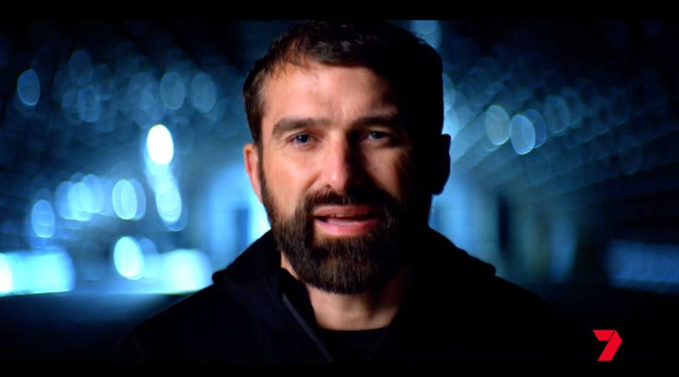 'SAS Australia' chief instructor Ant Middleton has had a controversial past. (Photo: Channel 7)