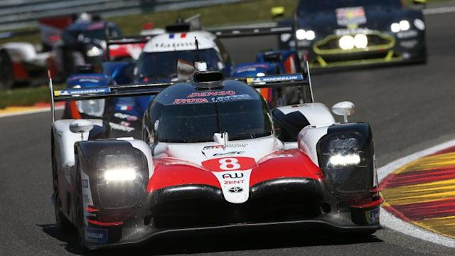 F1's Fernando Alonso wins his World Endurance Championship debut race