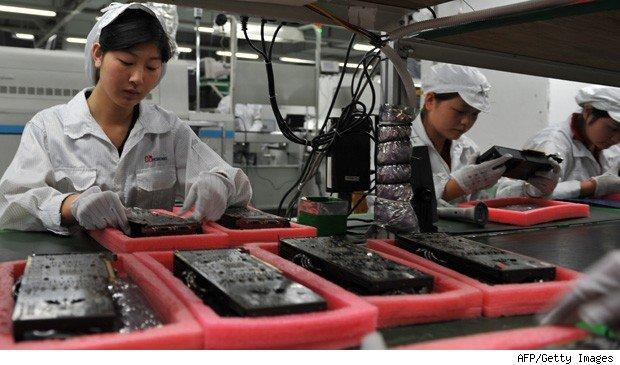 Foxconn iPhone workers fight