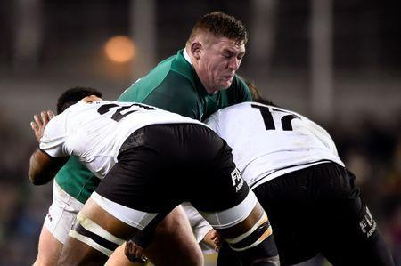 Rugby Union - Autumn Internationals - Ireland v Fiji - Aviva Stadium, Dublin, Republic of Ireland - November 18, 2017 IIreland's Tadhg Furlong in action REUTERS/Clodagh Kilcoyne
