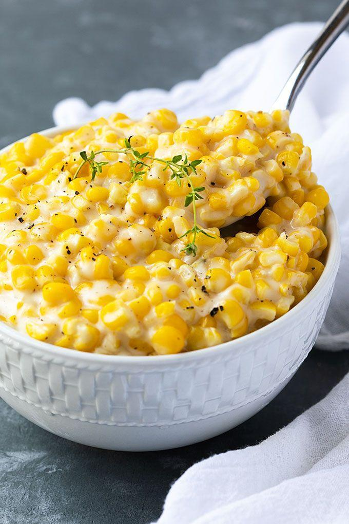 "<p>It doesn't get much easier than this bowl. It's made with ingredients you likely already have on hand and can be prepared in about 10 minutes. </p><p><strong>Get the recipe at <a href=""https://theblondcook.com/easy-creamed-corn/"" rel=""nofollow noopener"" target=""_blank"" data-ylk=""slk:The Blond Cook"" class=""link rapid-noclick-resp"">The Blond Cook</a>.</strong> </p>"