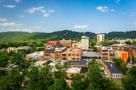 "Hidden deep within the Blue Ridge Mountains, the city of <a href=""https://www.cntraveler.com/galleries/2016-05-25/the-best-things-to-do-in-asheville-north-carolina?mbid=synd_yahoo_rss"" rel=""nofollow noopener"" target=""_blank"" data-ylk=""slk:Asheville"" class=""link rapid-noclick-resp"">Asheville</a> is one of contrasts: after all, it's where the country's largest private home, a mansion built by the Vanderbilts, sits down the road from tiny home rentals; where there's fine dining <em>and</em> funky beer; and where epic natural views from the Blue Ridge Parkway aren't too far a drive from a bustling downtown. (There are also, of course, traditional mountain crafts, which you'll find within shouting distance of a witchcraft festival.) If nothing else, Asheville is all about being unique."