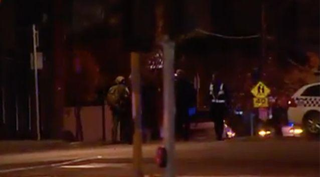 Police were involved with a standoff with the man for several hours. Photo: 7 News