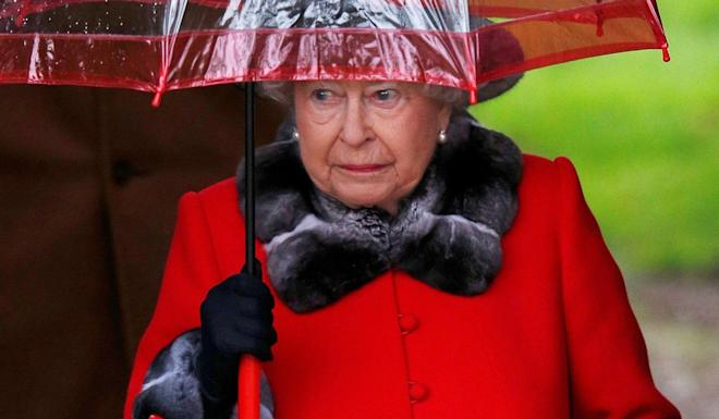 Queen Elizabeth after attending Christmas Day service in Sandringham in 2015. Photo: Reuters