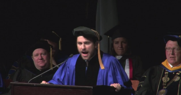 Charlie Day's Commencement Speech Goes Viral