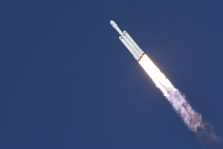 spacex falcon heavy launch success us space aerospace