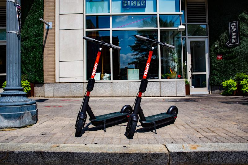 Spin-newer model scooters