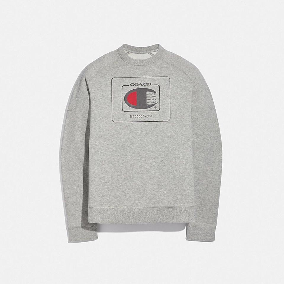 <p><span>Coach x Champion Sweatshirt</span> ($225)</p>