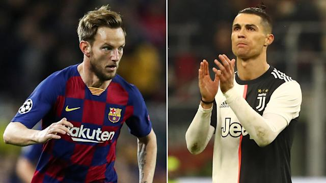 The Croatian midfielder has savoured his time playing with the Argentine star but is open to the chance of playing with his rival