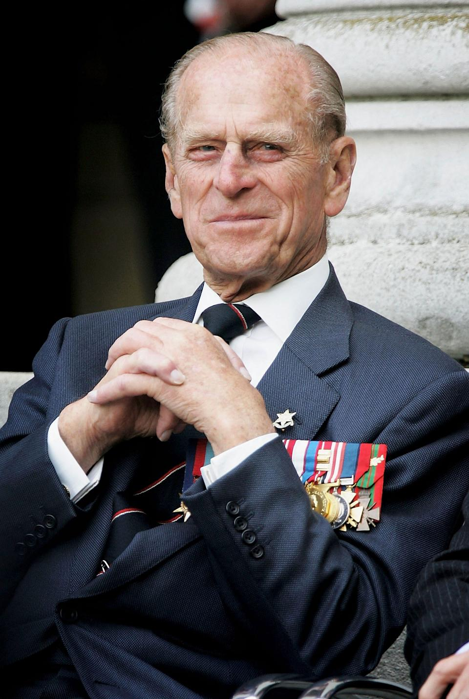 The Duke of Edinburgh pictured at the Imperial War Museum on August 15, 2005 in London, England. (Photo: Chris Jackson/Getty Images)