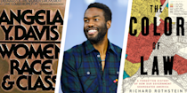 """<p>When Yahya Abdul-Mateen II was growing up, he remembers his father was constantly reading. From newspapers and health books to the Bible and the Koran, his reading materials were among his most trusted sources of information about the world around him. <br><br>""""He didn't trust anything,"""" the <em>Candyman</em> star writes in <a href=""""https://www.menshealth.com/trending-news/a33502233/yahya-abdul-mateen-ii-racism-social-justice-essay/"""" rel=""""nofollow noopener"""" target=""""_blank"""" data-ylk=""""slk:an essay for the September issue of Men's Health"""" class=""""link rapid-noclick-resp"""">an essay for the September issue of <em>Men's Health</em></a>. """"He was born in 1945 in New Orleans, and as a Black man, he knew that he couldn't leave it up to America to tell him the truth about his body or his mind or the way things were."""" <br></p><p>When it comes to educating himself in 2020, Abdul-Mateen says he watches and reads the news. """"But when I really want to know what's happening in the world, I talk to my friends who work in politics, in education, in business or medicine, and I try to shut up and listen,"""" he adds. </p><p>Recently, the actor—<a href=""""https://www.menshealth.com/fitness/a30197353/yahya-abdul-mateen-ii-workout-watchmen/"""" rel=""""nofollow noopener"""" target=""""_blank"""" data-ylk=""""slk:who also played Dr. Manhattan in HBO's Watchmen"""" class=""""link rapid-noclick-resp"""">who also played Dr. Manhattan in HBO's <em>Watchmen</em></a>—set out to acquire a reading list of his own. """"I asked a friend of mine, one of my fraternity brothers from Berkeley who's now a professor of African-American studies at Harvard, to give me a list of books that I should be reading right now,"""" Abdul-Mateen writes. """"He gave me a list of probably 30 books to get. I narrowed it down to ten. </p><p>""""So that's how I teach myself now: I lean on my community to share resources, educate me, and help me grow—to make my world <em>bigger</em>.""""</p><p>Check out Abdul-Mateen's top book picks below. Almost all the books include a"""