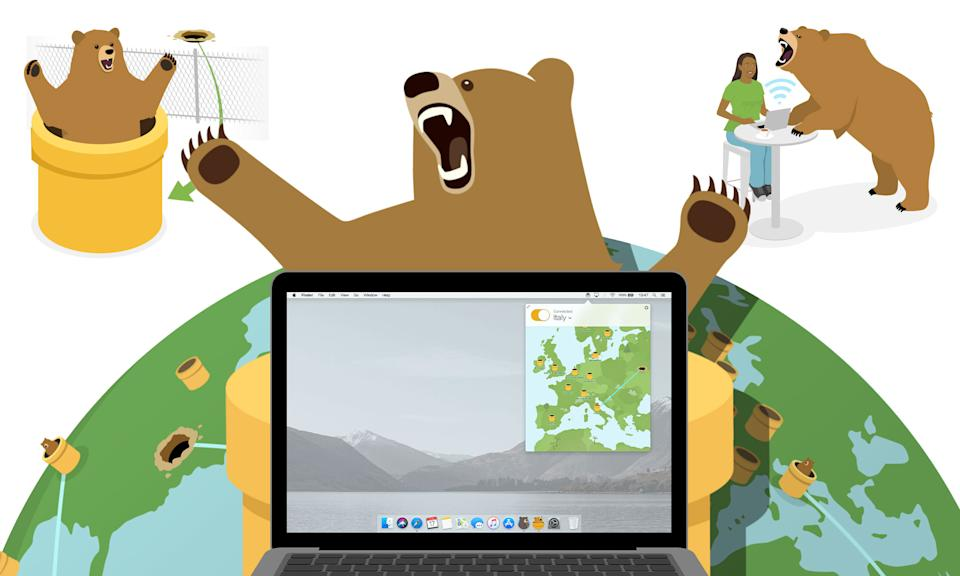 Holiday Gift Guide: Tunnelbear monthly subscription