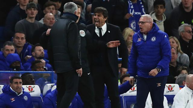 Antonio Conte feels there is a pointless desire to exaggerate a supposed feud with Manchester United boss Jose Mourinho.