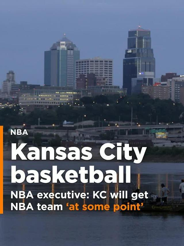 "Jarrett Sutton of the SEC Network spoke to an anonymous NBA executive on Friday, who said that Kansas City ""will get an NBA team at some point."""