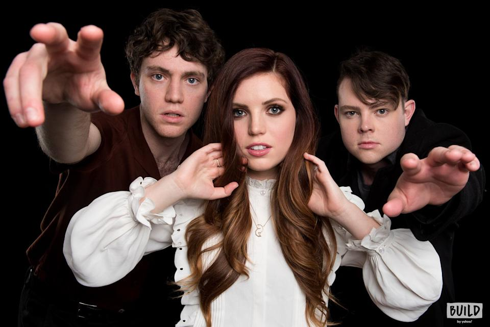 Echosmith consists of siblings Noah, Sydney and Graham Sierota. (Photo: Mike Pont)