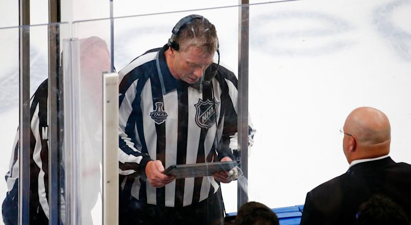 The National Hockey League has revised its rulebook when it comes to Coach's chalenge. (Photo by Dilip Vishwanat/Getty Images)